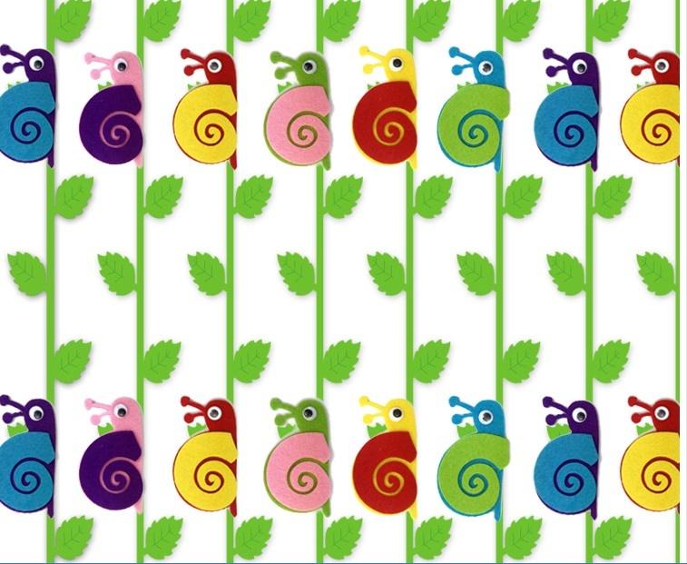 无纺布彩色树叶条挂饰 1米挂饰吊饰 幼儿园教室环境布置装饰吊饰 走廊