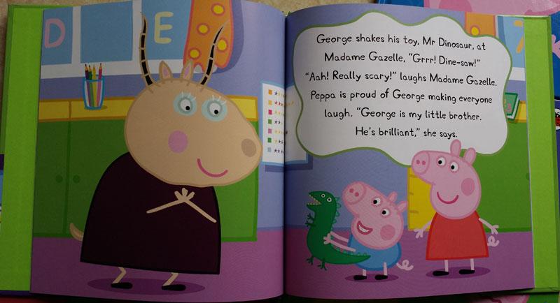 小猪佩奇和乔治国语版 猪爷爷的菜地 简笔画