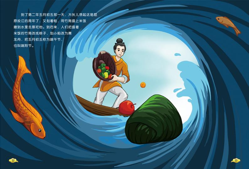 春节 元宵节 清明节 端午节 中秋节 重阳节 小学生课外阅读早教故事