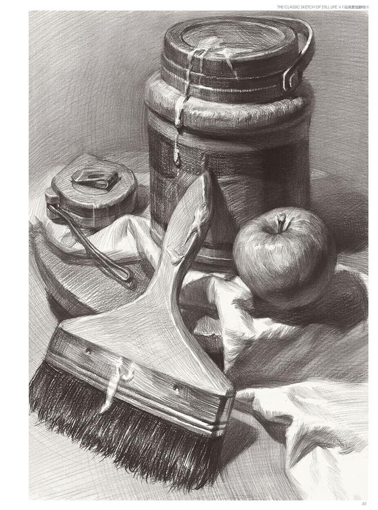 经典全集素描静物组合临摹书籍美术基础技法结构到位绘画册写生照