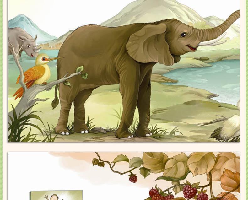 美绘本 正版经典儿童动物故事绘本畅销书籍小动物成长日记.
