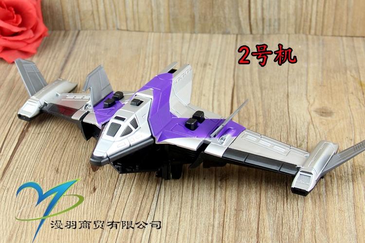 银河戴拿奥特曼飞机合体玩具 胜利神鹰号阿尔法斯佩里奥5合一飞机