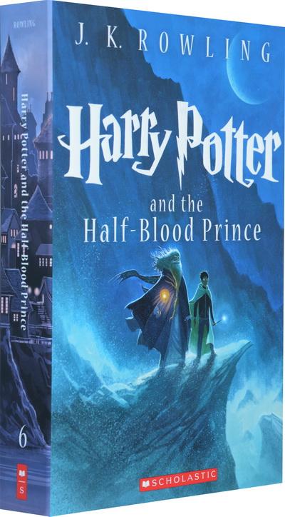 英文原版 哈利波特与混血王子 harry potter and the half-blood