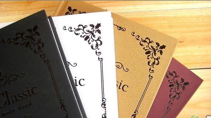 花边精装笔记本