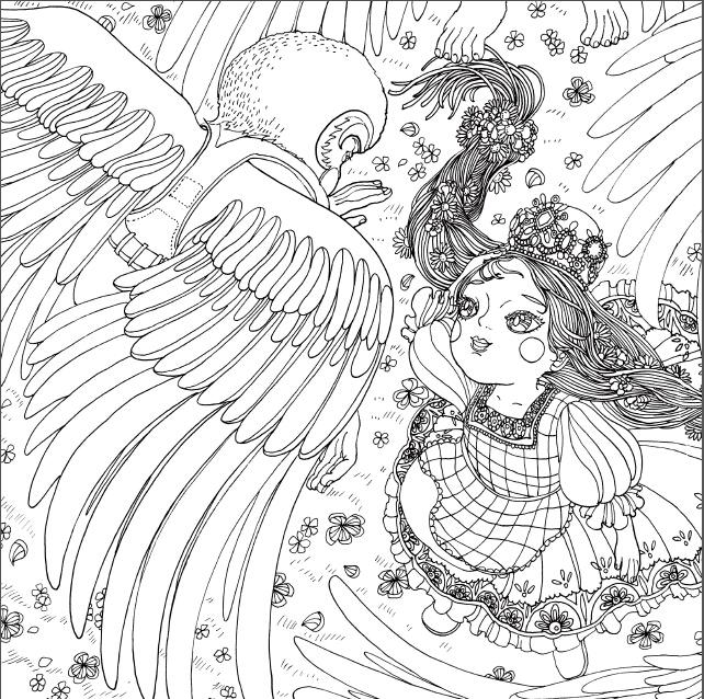 野仙踪:为童话世界涂色的魔法书 》 【简介_书评-魔法森林与童话世