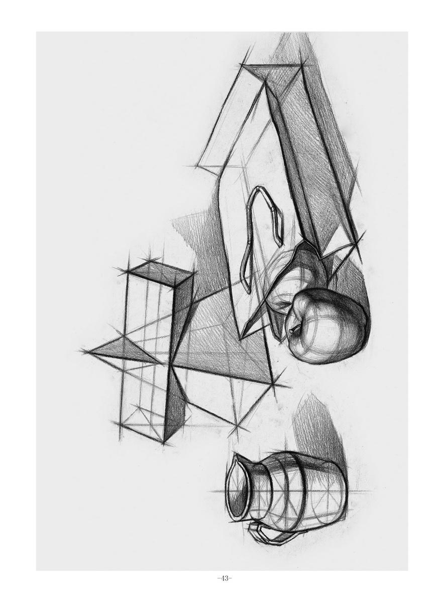 鼻子(结构素描)  嘴巴(结构素描)  耳朵(结构素描)  第六章 头骨画法