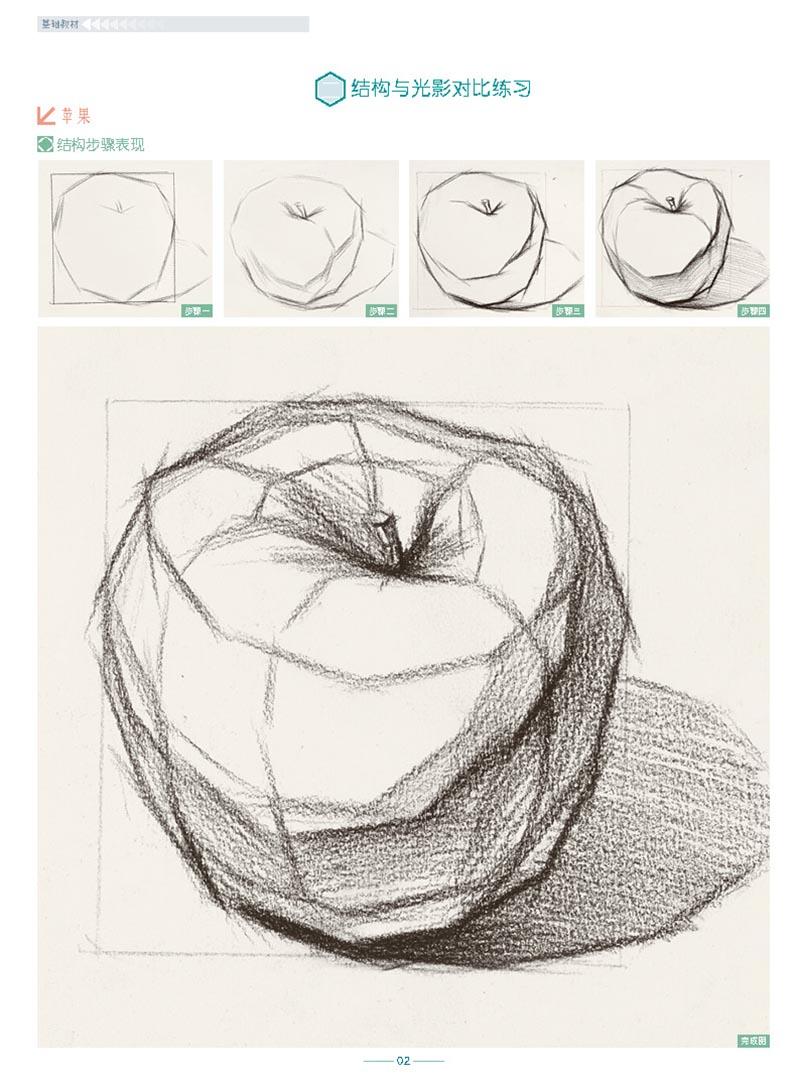 几何体素描书 铅笔素描书 入门 自学零基础绘画速写书 手绘学画画书入